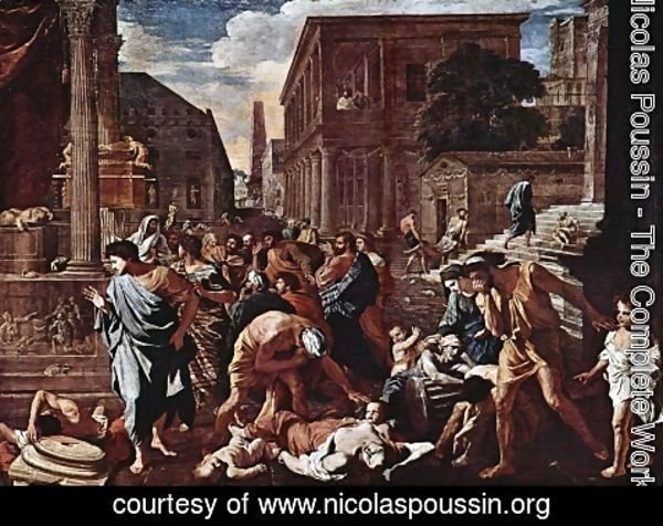 Nicolas Poussin - The Plague of Ashdod