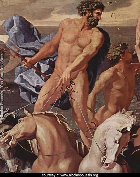 The Triumph of Neptune, detail