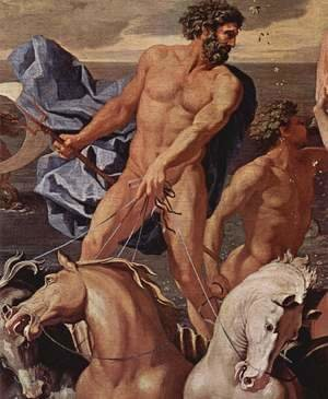 Nicolas Poussin - The Triumph of Neptune, detail