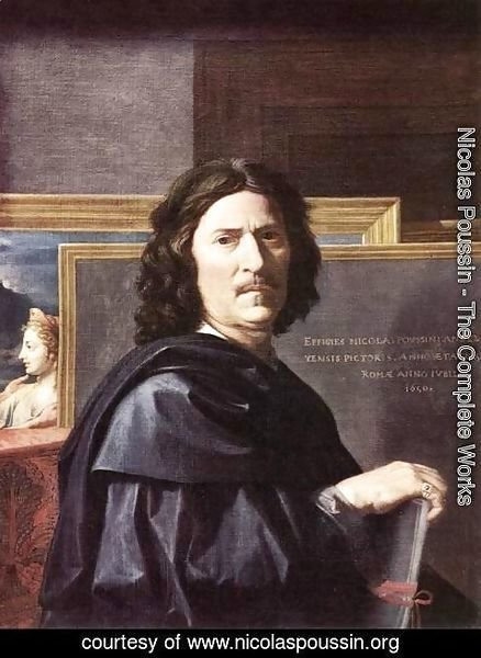 Nicolas Poussin - Self-Portrait 2