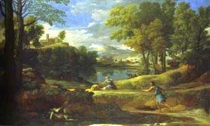Landscape With A Man Running From Serpent 1648