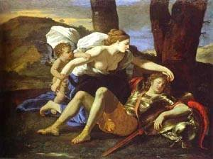 Nicolas Poussin - Renaud And Armide 1626-1628