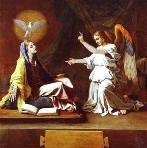 Nicolas Poussin - The Annunciation 1655