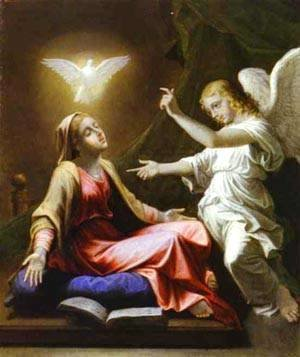 Nicolas Poussin - The Annunciation 1657