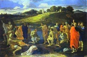 Nicolas Poussin - The Baptism Of Christ 1647