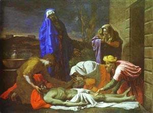 Nicolas Poussin - The Lamentation Over Christ 1655-1657