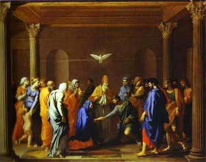 Nicolas Poussin - The Marriage Of The Virgin 1640