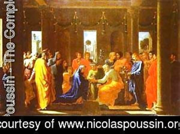 Nicolas Poussin - The Marriage Of The Virgin 1647