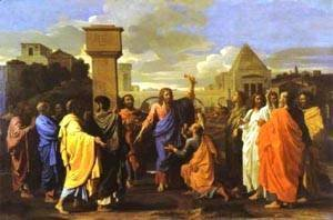 Nicolas Poussin - The Ordination 1647