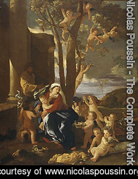 Nicolas Poussin - The Rest on the Flight into Egypt ca 1627