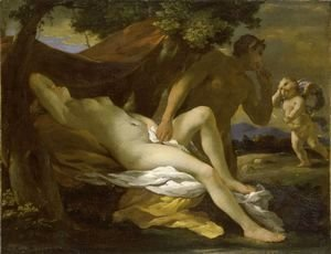 Nicolas Poussin - Jupiter and Antiope