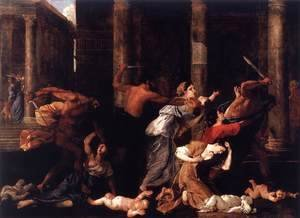 Nicolas Poussin - Massacre of the Innocents I