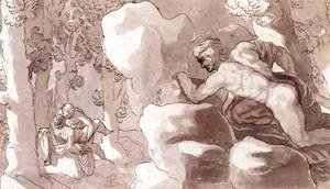 Polyphemus Discovers Acis and Galatea