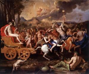 Nicolas Poussin - The Triumph of Bacchus