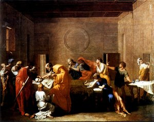 Nicolas Poussin - The Seven Sacraments I Extreme Unction