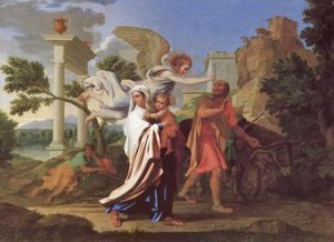 Nicolas Poussin - The Flight into Egypt