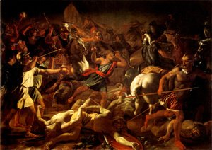 Nicolas Poussin - Battle of Gideon Against the Midianites